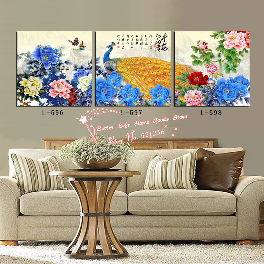 Elegant Wall Art For Living Room : Popular elegant living room decor buy cheap