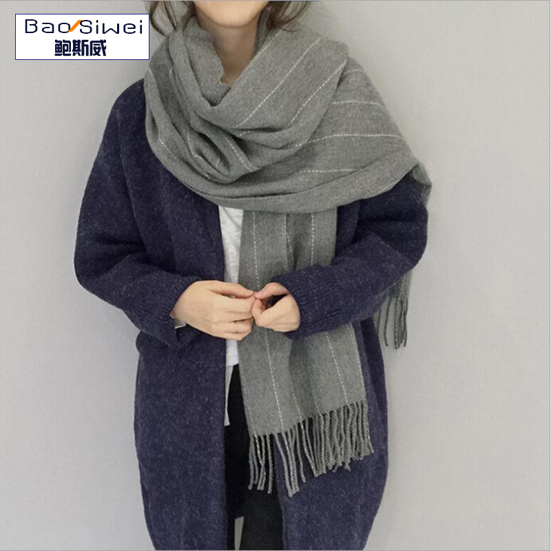 High Quality 2016 New Cashmere Scarf Designer Women Thicken Warm Cape Long Shawl Brand Shawls and Scarves Warm Pashmina Echarpes(China (Mainland))