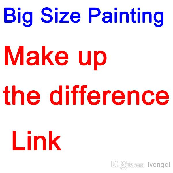 Dedicated big size rest cost Make up the freight difference link(China (Mainland))