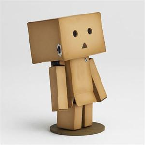 Free Shipping Japanese anime New Lovely Danboard Danbo Doll Mini 2 Style 8cm PVC Action Figure Toy with LED light(China (Mainland))