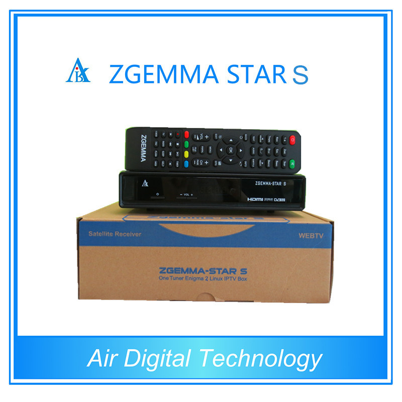3pcs Original zgemma-star s DVB-S2 enigma 2 linux os Digital Satellite Receiver replace to cloud ibox 2 plus hot sell(China (Mainland))