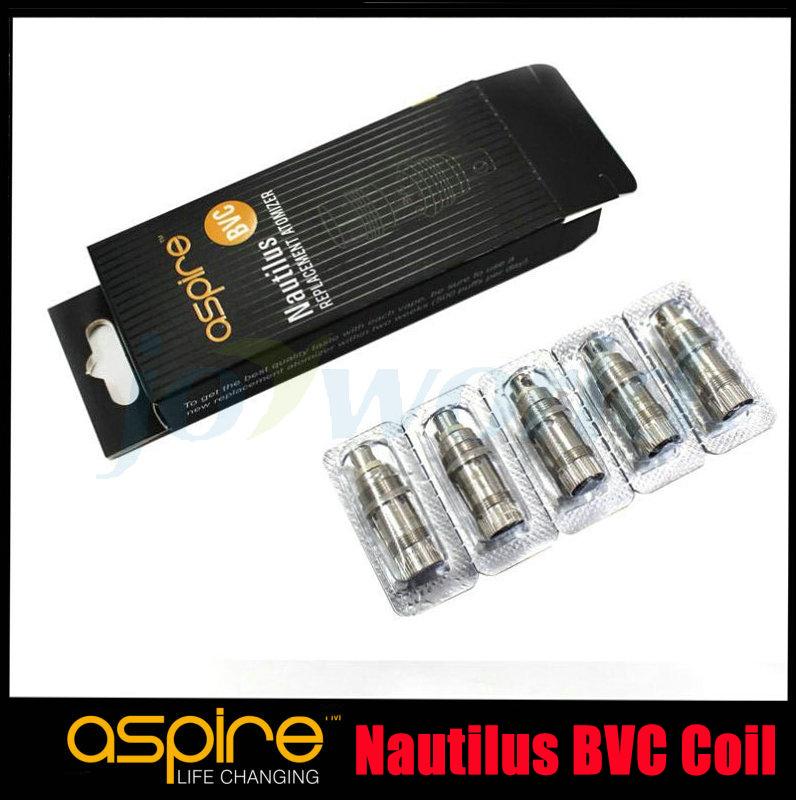 10pc lot Genuine Aspire Nautilus BVC Coil New Aspire Nautilus Bottom Vertical Coil Aspire BVC coil