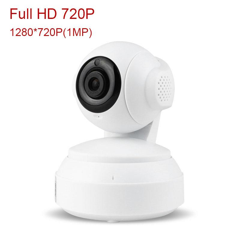 2015 New full HD 720P Wifi IP camera 1MP HD Mini PTZ IP Camera IR Night Vision Security Camera CCTV System support TF card(China (Mainland))