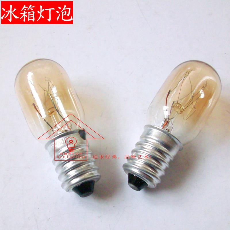 Crystal salt lamps for light bulbs E14 screw 15W bulb finger microwave oven hood refrigerator bulb warm light(China (Mainland))