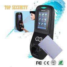 Multibio700 faccia di controllo di accesso controller porta con le impronte digitali e rfid card reader 1500 faccia capacità touch screen da 3 pollici(China (Mainland))