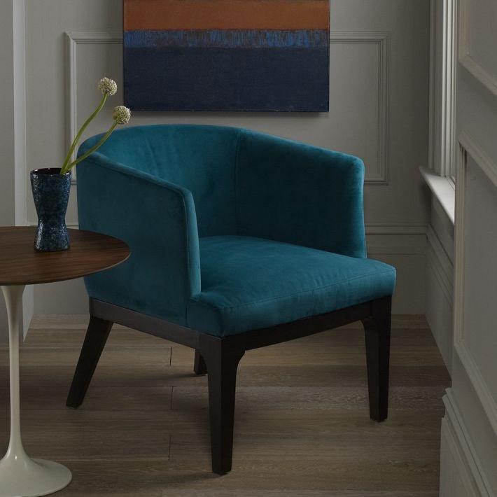 European Simple Style Furniture Cotton Cloth Sofa Chair Single Seat Living Room Sofa Leisure