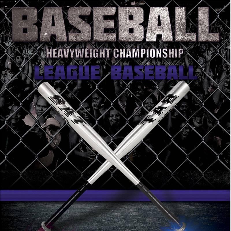 2015 Hot Sale High Quality 25 Inch 63cm Aluminum Alloy Baseball Bat Softball Bat Outdoor Sports Four Colors(China (Mainland))