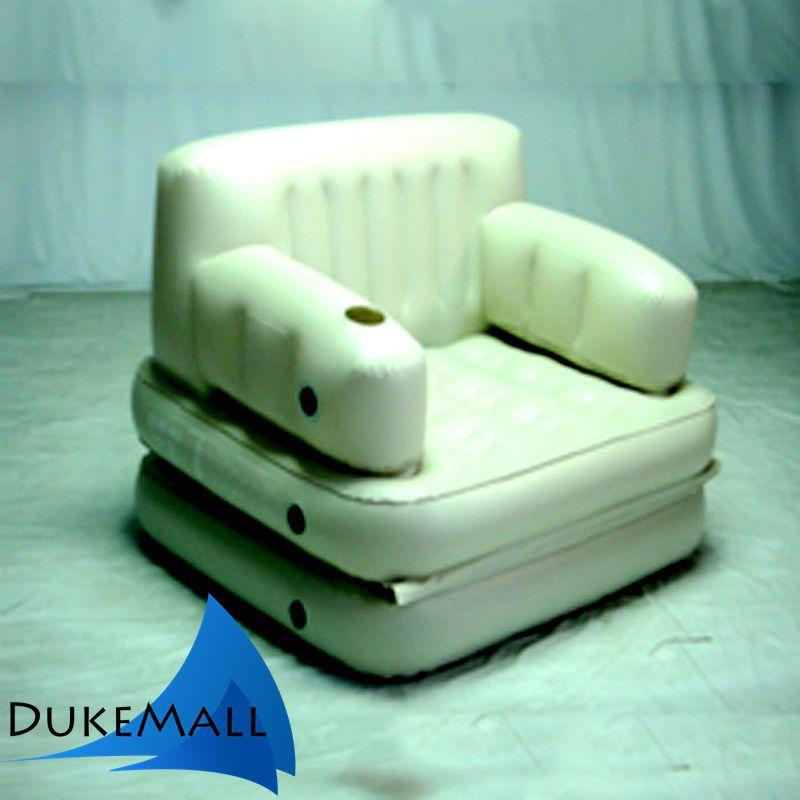 moda 1 persona sola inflable sof cama nueva sala de estar