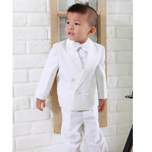 Фотография Boys Tail Suits White Wedding Bell Boy Boys Kids Dress Tuxedos Boy