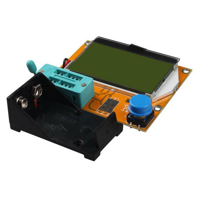 Digital ESR Meter Mega328 Transistor Tester LCR-T4 esr tester MOS/PNP/NPN L/C/R TESTER METER electric meter(China (Mainland))