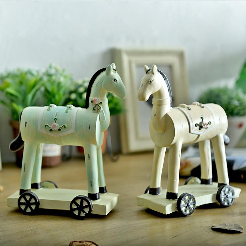 Cheval ornement promotion achetez des cheval ornement for Decoration chambre nuptiale