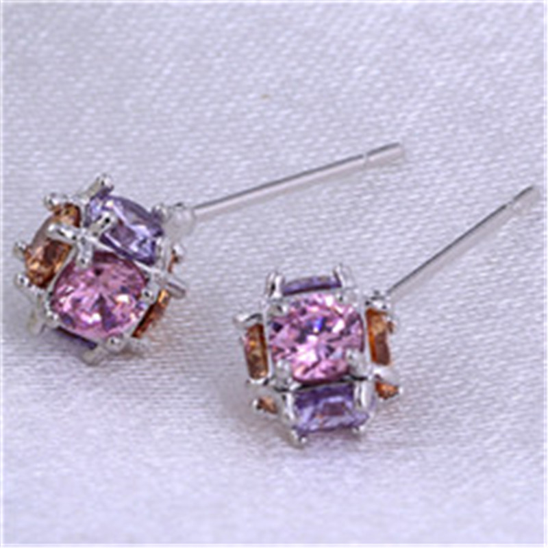 Silver Ball Earring Trendy Long Rock Zircon Steampunk Earrings For Women China Jewelry Buy Direct From China(China (Mainland))
