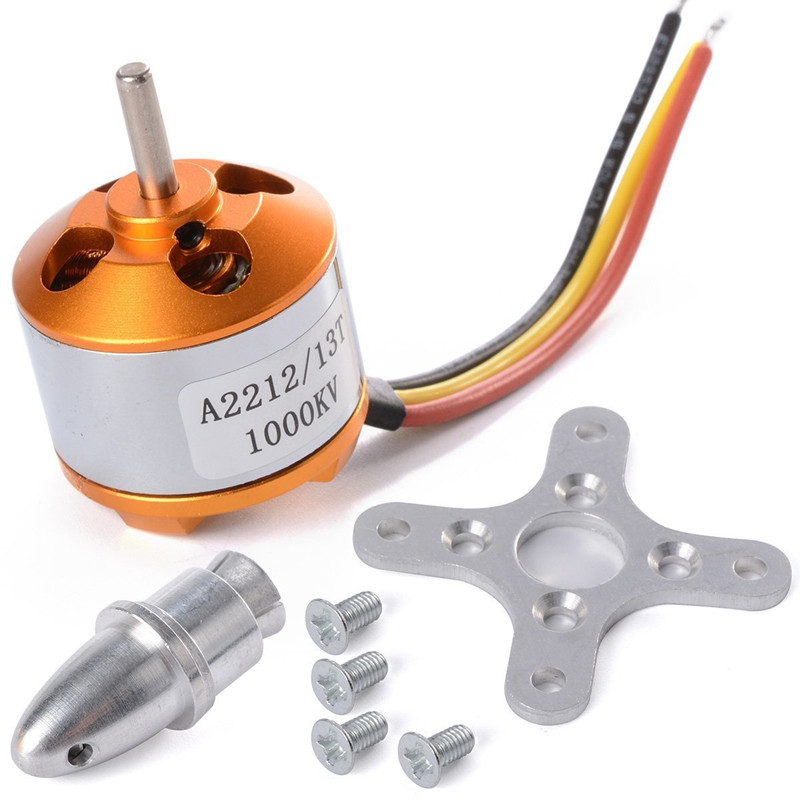 A2212 / 13T 1000KV Brushless Motor Outrunner Motor for DJI F330 F450 F550 RC Airplane Aircraft Multicopter Quadcopter(China (Mainland))