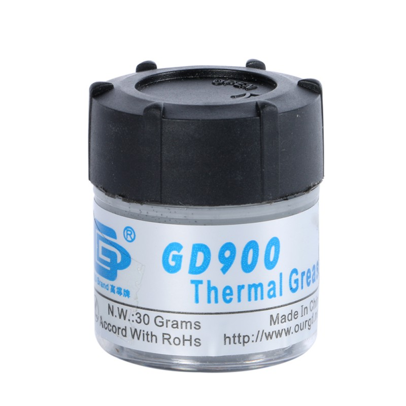 N.W. 30g Gray GD900 Heat Sink Compound Thermal Grease Paste Silicone(China (Mainland))