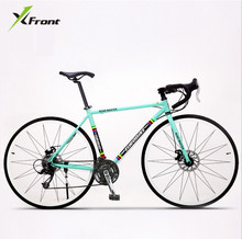 Buy New brand Retro 27 speed racing bike 700C*50cm bike Aluminum alloy frame Bend bicycle pedal cycling disc brake road bike for $363.34 in AliExpress store