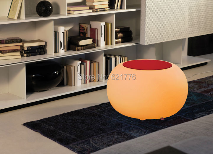 Fashion Remote Control BUBBLE Living room LED Coffee Table Light LED Multi - ROUND Modern Drum Furniture for bar indoor/outdoor(China (Mainland))
