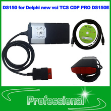 free shipping 2014 R2 with keygen on CD DS150 for Delphi new vci TCS CDP PRO DS150E auto scanner(China (Mainland))