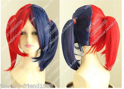 TJS &amp;Wholesale&amp;&gt;&gt;        Cosplay Harley Quinn female clown wig <br><br>Aliexpress