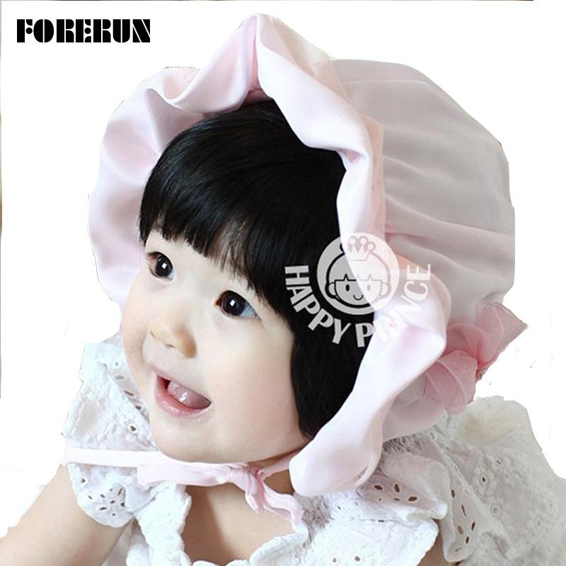 2016 New Baby Hat Flower Satin Kids Bucket Hats Soft Limit Silk Baby Sun Hat Summer Spring Palace Caps Girls Visors for Princess(China (Mainland))