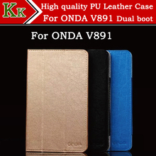 New 8.9″ high quality Tablet Protective Wire line pattern PU Leather Case Stand Cover For Onda V891 Dual OS 8.9 inch tablet pc