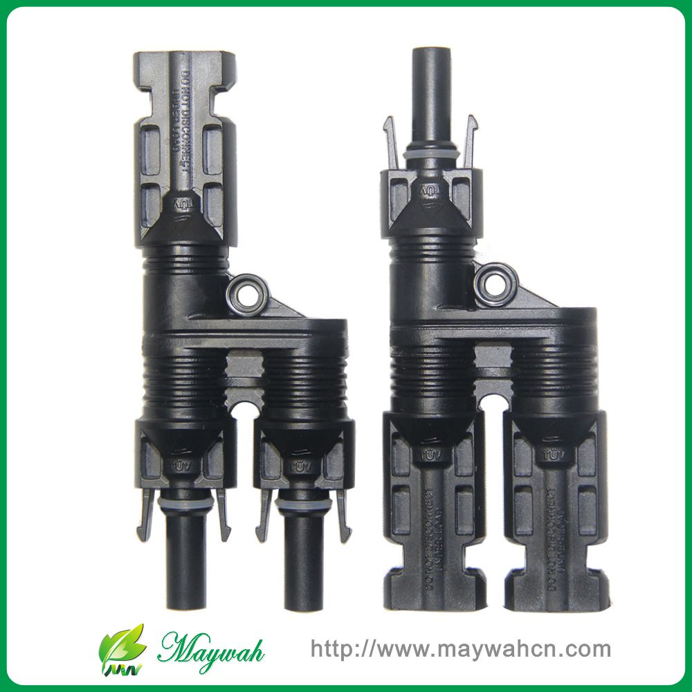 25 Years Warranty 20 Pairs H Type MC4 Style Branch Connectors With CE, TUV.Be Used Solar Generator System,Fedex Free Shipping(China (Mainland))