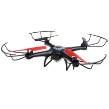 2015 Supper Cool High Quality 2.4G 4 Channel RC Quacopter With Camera 5.8G Image Transfer V686G Black