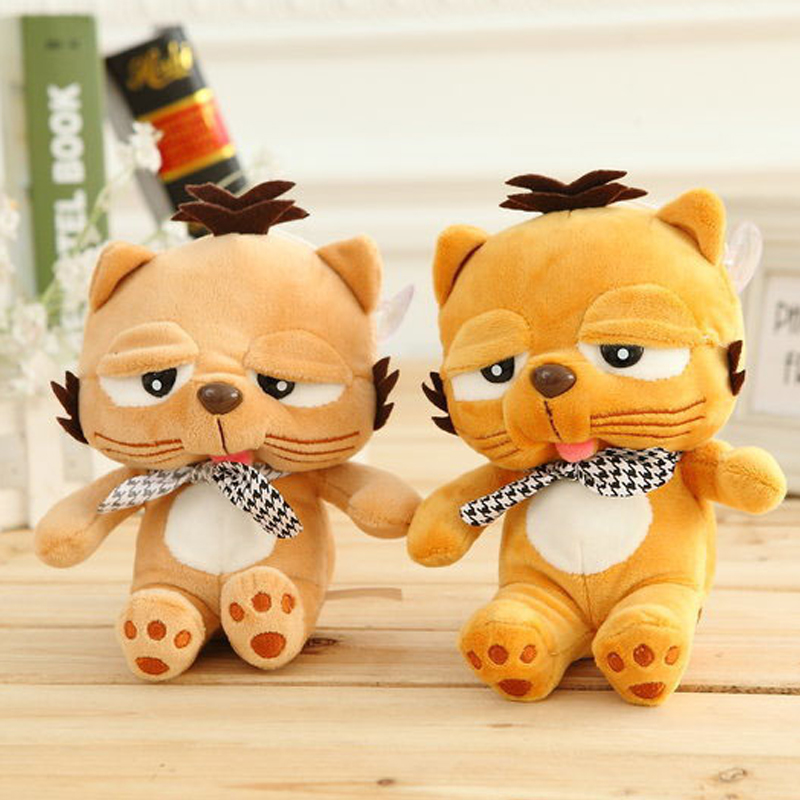 NEW 1pcs Lovely Movie Character Garfield Plush Toy 18CM Stuffed Cartoon Anime Dolls Children Baby Stuffed Toys For Kids Giftn(China (Mainland))