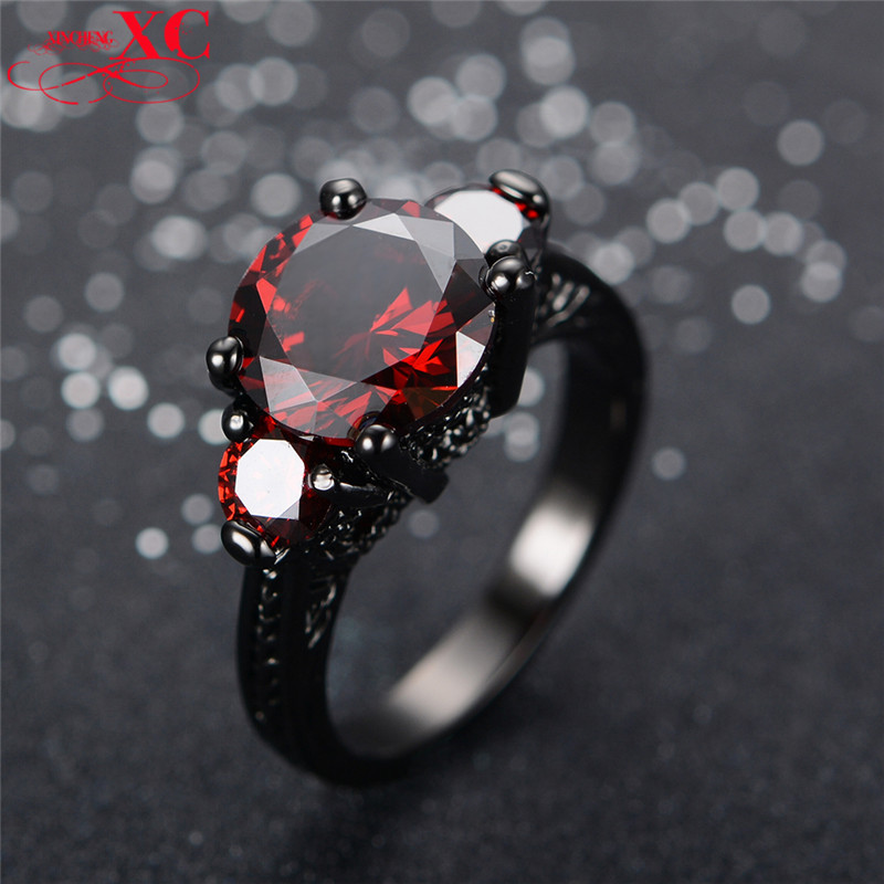 wedding black photo rings edges tungsten car products with amazing beveled wholesale plated stripe ring upright red w recessed and ion race band inner bands