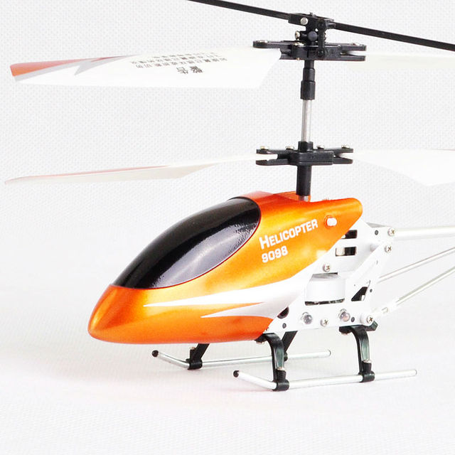 FREE SHIPPING MINI 3.5CH Infrared Control Alloy and Gyro Helicopter led light helicopter DH9098 helcopter