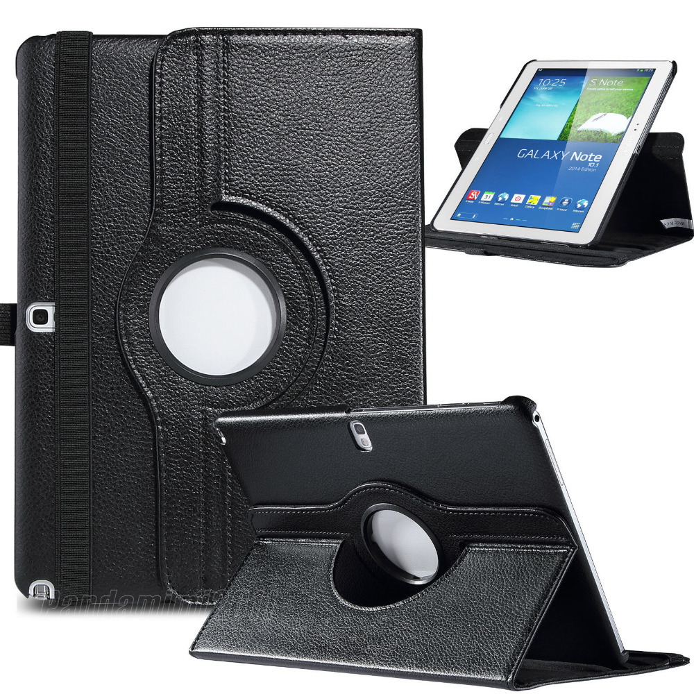 For Samsung Galaxy Note 10.1 inch P600 2014 Edition PU Leather Case Smart Cover(China (Mainland))