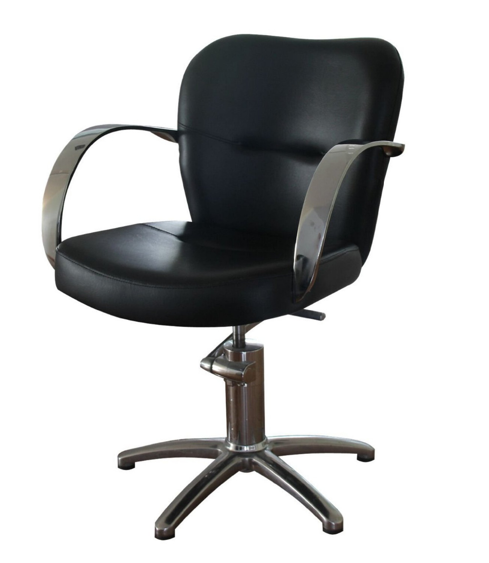black hydraulic styling barber chair hair beauty salon