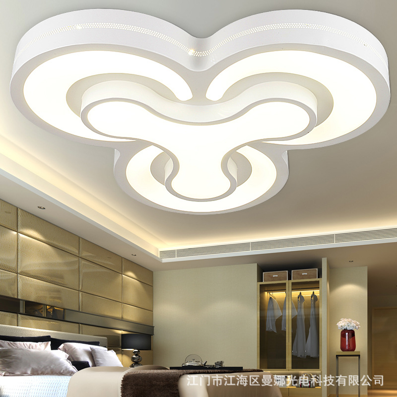 Modern led ceiling light modern minimalist living room for Living room overhead lighting