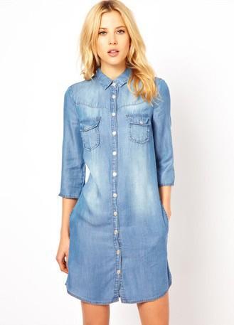 Robes jeans femmes