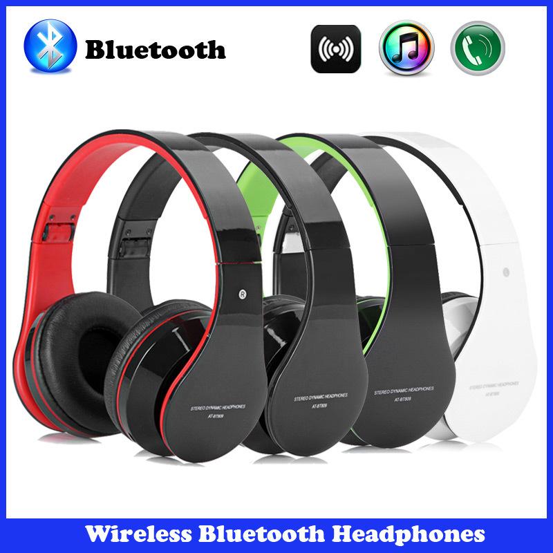 Wireless Bluetooth Stereo Foldable Headset Handsfree Headphones Earphone with Micphone for iPhone/iPad/PC/Galaxy/HTC/Xiaomi(China (Mainland))