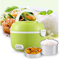 2016 Newest 1 2L Portable Lunch Box Electric Rice Cooker 200W Multifunction Mini Rice Cooker