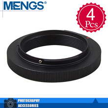 Buy MENGS 4Pcs per pack M42-OM Lens Mount Adapter Ring Aluminum Material M42 Lens E-Mount Camera Body, 14150000101 for $7.49 in AliExpress store