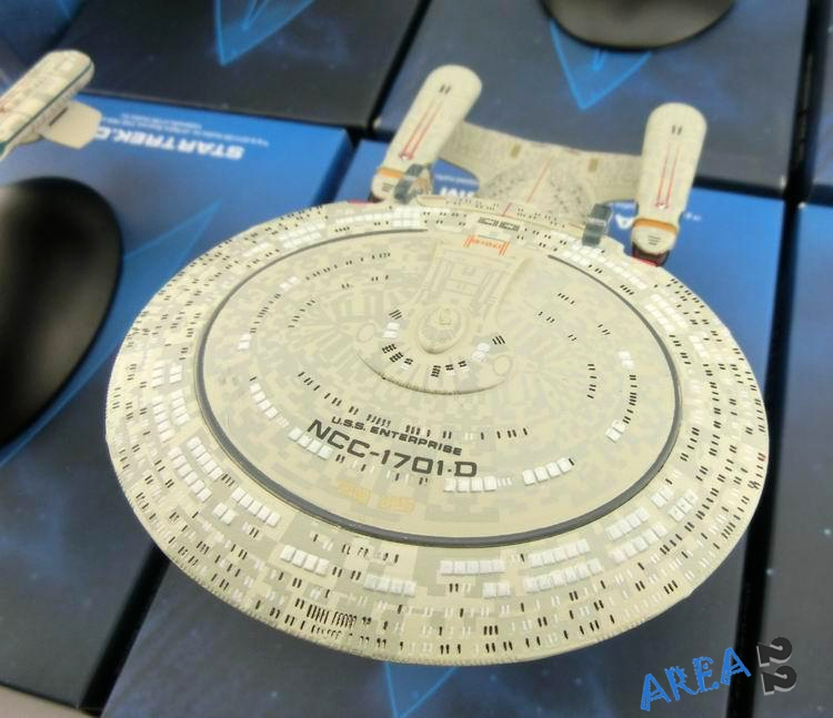 STAR TREK Starships Collection, USS ENTERPRISE NCC-1701-D Metal Model, Eaglemoss Collectables, Die Cast Model(China (Mainland))
