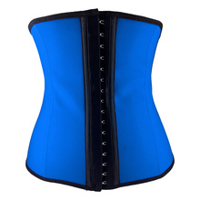 women gaine amincissante corset slimming latex waist trainers sport slimming sheath body Shapers girdles women rubber belt belly