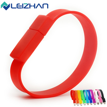 10Colors Real Capacity USB Flash Drive Pendrive Bracelet 2.0 USB Stick Wrist Memory Stick 64g 32g 16g 8g 4g Computer USB Drive(China (Mainland))