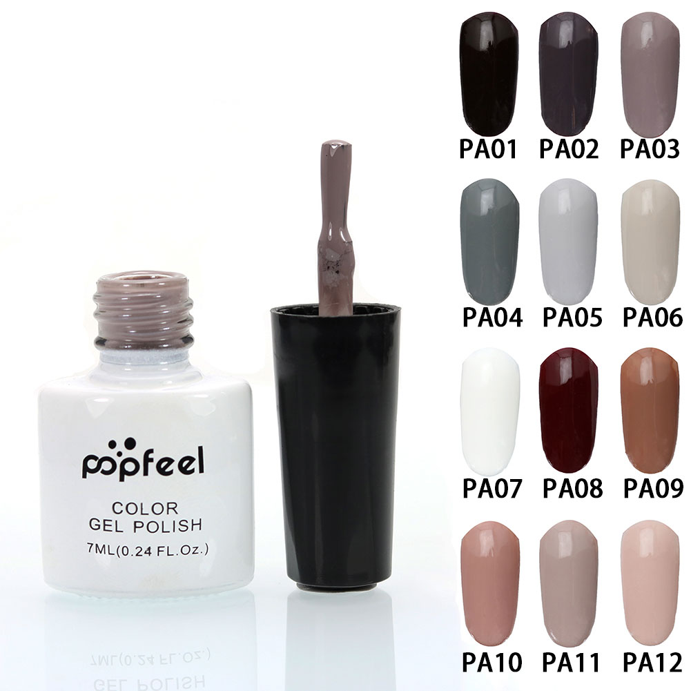 Fashion Stylish Nude Nail Art Polish Gel Enamel Liquid Manicure Beauty