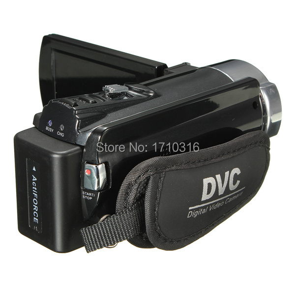 Hot Selling 1080P CMOS Sensor Rechargeable Automatic Digital Video Recording Camcorder Full HD 16x Zoom DV