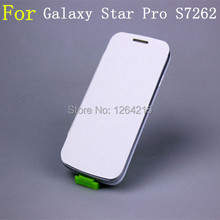 free shipping High Quality Back Battery Housing Cover flip case Cases for samsung Galaxy Star Pro S7262 7262 S7260 7260