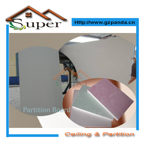 Gypsum board for wall partition (drywall)(China (Mainland))