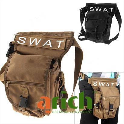 Multifunction Leg Bag Waist Bag Combine Bag with Multi-Pockets for Hiking Camping Traveling