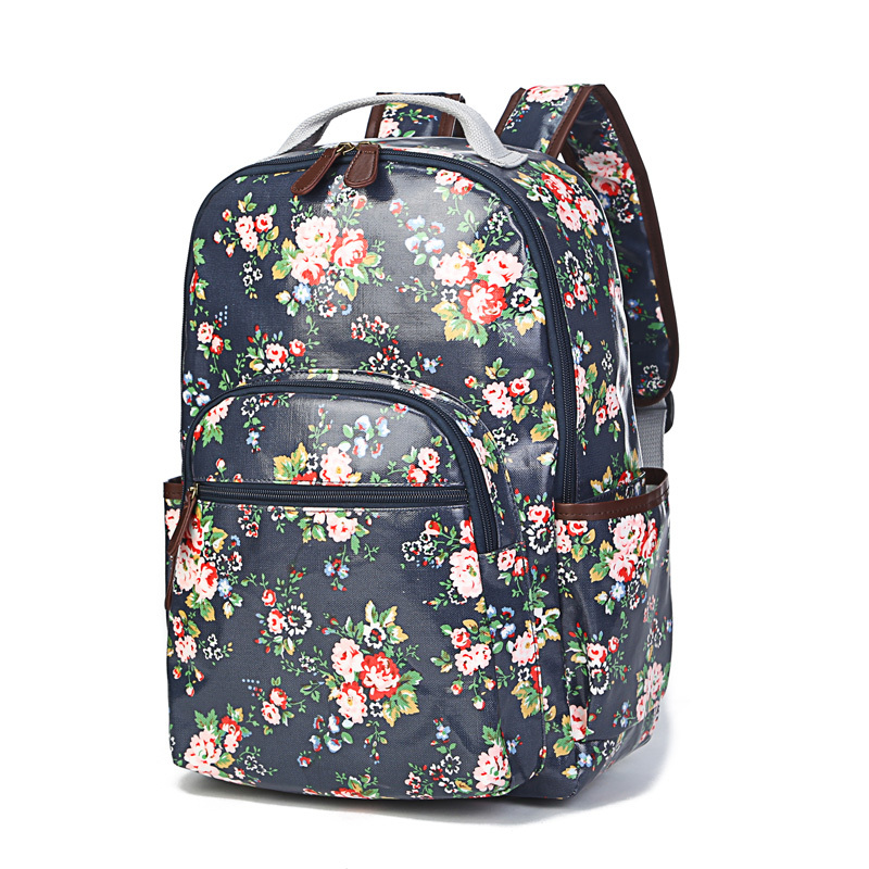Waterproof canvas Preppy backpacks floral Women designer backpack high quality china brand backbag school bags for teenagers<br><br>Aliexpress