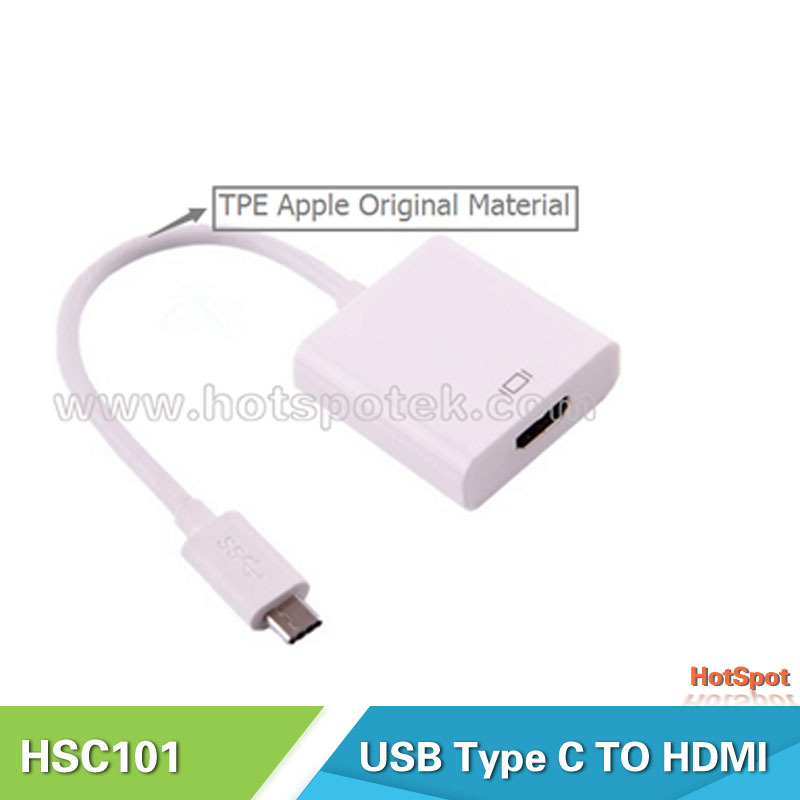 Beat Price usb type c to hdmi converter,usb-c male to hdmi female cable adaptor ,1080P, for apple macbook(China (Mainland))