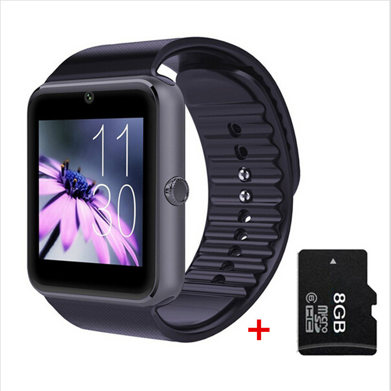 2016 Bluetooth Smart Watch GT08 wearable devices Smartwatches Support Sim Card MP3 For Samsung Huawei ios Android phone PK DZ09(China (Mainland))