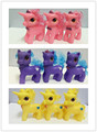 3pcs MLP Little Horse Loose Toys For Children Gift Very Cute Cartoon Action Figures Doll