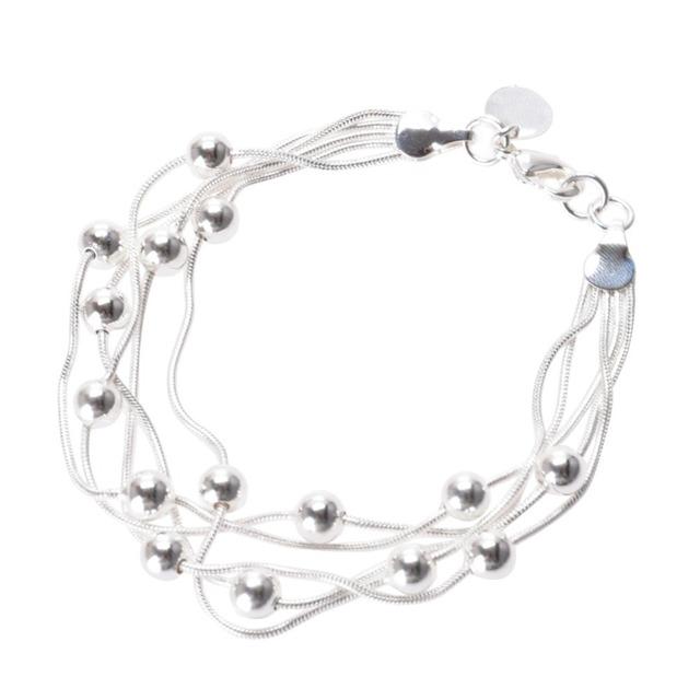 Lackingone свет пряди бусы браслеты для женщин модный веревку цепи браслет