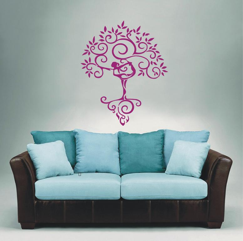 Wall stickers home decor art vinyl decoration mural decal for Poster mural zen deco